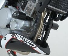 R&G RACING Aero Crash Protectors, Rieju RS3 125 naked *BLACK*