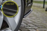 Heckansatz Spoilerecken Seitenteile ABS für BMW 3er E90 M-Paket Carbon Optik