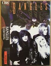 BANGLES Everything ORIGINAL1986 UK cassette CBS red paper labels PLAY TESTED Ex!