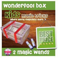 Magic IllusionTrick Wonder Fool Box Pranks Jokes & Novelties + Trick Magic Wand