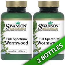 Swanson Premium Wormwood (Artemisia Annua/Sweet Annie) 425 mg 2X90 Caps