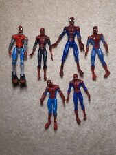Lot Of 6 Spider-man Action Figures