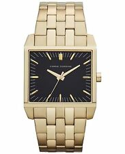 Armani Exchange AX2215 Men's Black Dial Gold Tone St Steel Analog Watch