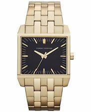 Armani Exchange AX2215 Men's Black Dial Gold Tone St Steel Analog Watch