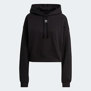 adidas Originals Womens Adicolor Essentials comfy Hoodie black
