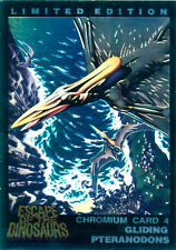 Escape of the Dinosaurs Gold Chase Card 4