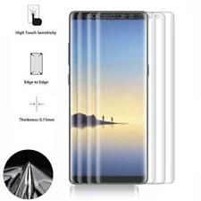 3 Pellicola Curva per SAMSUNG Galaxy NOTE 8 Copertura BORDI Display Silicone