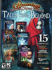 The Twilight Zone Hidden Object Tales From Beyond 15 Pack Pc Game New