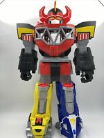 "Imaginext Mighty Morphin Power Rangers Morphin Megazord 27"" Toy Fisher Price"