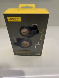 Jabra Elite Active 65t Earbuds - Cooper Blue