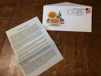 FIRST DAY OF ISSUE 2003 Sun City AZ 25th anniversary POSTAGE STAMP ENVELOPE