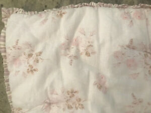 Pottery Barn Teen Lily Ashwell Reversible Floral Standard Sham NEW