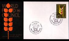 """ENVELOPPE 1° JOUR """"NATIONS UNIES"""" Oblitération Flamme postale GENEVE en 1976"""