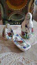 Nativity Set, Ceramic, Red Tulip Design