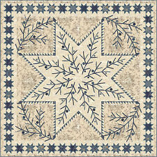 Quilt Pattern ~ SHINING STAR ~ by Laundry Basket Quilts