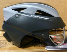 Cascade LX Women's Lacrosse Headgear Helmet, Black/Gray