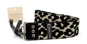"""Brand New Capturing Couture Luxe Leopard 2"""" Wide SLR, DSLR Camera Strap  018"""