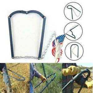 Stretcher for Fence Gardening Fence Fixer Home Fence Repair Tool Farm Fence Stretcher Tensioner Puller Heavy Duty Fence Plain Barbed Wire Strainer Chain Fence Strainer