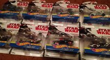 NEW Hot Wheels Die-Cast STAR WARS LOT of 8 Cars