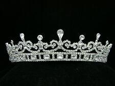 Bridal Pageant Rhinestone Crystal Prom Wedding Crown Tiara 6126