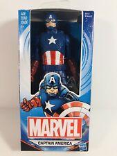 "Marvel Captain America Action Figure 6"" Plastic Boys Ages 4 & Up Hasbro"