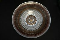 Murano Italian Art Glass Plate or Bowl - Large Size - Tapestry Pattern Design