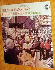 VINYL LP Jean Carignan - French Canadian Fiddle Songs Factory Sealed