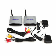 PAT-330 2.4GHz Wireless TV AV Audio Video Transmitter & Receiver 150m US Plug