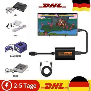 HDMI Converter Adapter Für SNES N64 GC SFC - Super Nintendo Game Cube Famicom 64