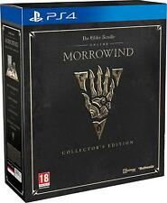 The Elder Scrolls Online Morrowind Collector's Edition PS4 Game NEW Playstation