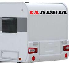 Adria  45cm Wohnmobil Camper 2x Aufkleber Wohnwagen Caravan Karavan sticker