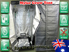 New Indoor Hydroponics Reflective Mylar Grow Tent 1.2m x 1.2m x 2m Greenhouse