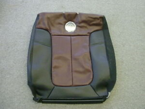 Ford F-150 Harley Davidson leather right rear seatback cover