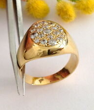 ANELLO IN ORO GIALLO 18KT CON CUBIC ZIRCONIA - 18KT SOLID GOLD RING AND ZIRCONIA