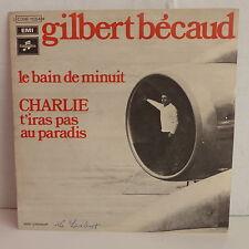 GILBERT BECAUD Le bain de minuit / Charlie t iras pas au paradis 2C006 11054