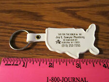 Auburn NY Key Ring Keychain 1988 Go For Gold Olympics US Sawyer FREE SHIP