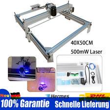 CNC Gravure Laser Machine De Coupe Graveur Fraiseuse Bureau DIY 500mW 40x50cm DE