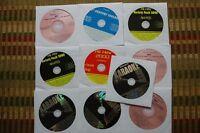 10 CDG KARAOKE DISCS COUNTRY & OLDIES CD+G SANTANA,RUSH,POISON,SINATRA CD 30f