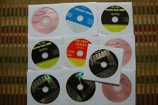 10 CD+G DISCS COUNTRY & OLDIES KARAOKE CD+G SANTANA,RUSH,POISON,SINATRA CD 30f