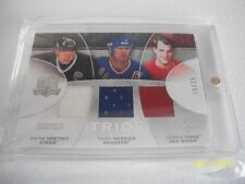WAYNE GRETZKY THE CUP TRIOS 2008-09 # CJ3-GMH WITH MESSIER AND HOWE  06/15
