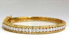 Bracciali di lusso rigidi in oro giallo