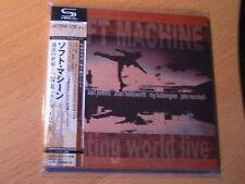 "SOFT MACHINE ""Floating World Live"" le Japon MINI LP SHM CD ALLAN HOLDSWORTH"