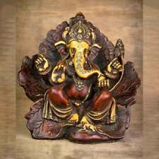 Leaf Wing Ganesh Statue - Antique