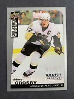 2008-09 Upper Deck Collector's Choice Reserve #177 Sidney Crosby Pittsburgh Pens