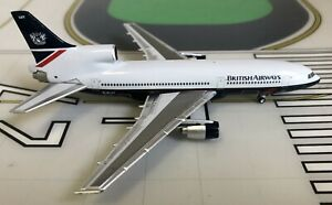 British Airways Lockheed L-1011-500 G-BLUT Landor 1/400 scale diecast Lockness