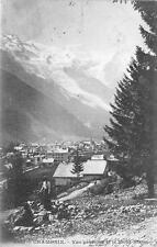 CHAMONIX MONT BLANC GENEVE SWITZERLAND TO ILLINOIS USA POSTCARD 1903