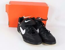 huge discount 9478d aa5b6 Vtg 90s New Nike Mens 7.5 Tiempo Trainer Indoor Soccer Shoes Trainers Black