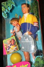 Vintage 1990's Big Brother Ken & Baby Brother Tommy - NIB