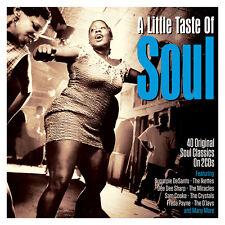 A Little Taste Of Soul - 40 Original Soul Classics (2CD) NEW/SEALED