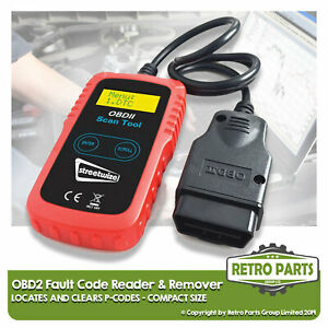 Compact OBD2 Code Reader for Land Rover. Diagnostic Scanner Engine Light